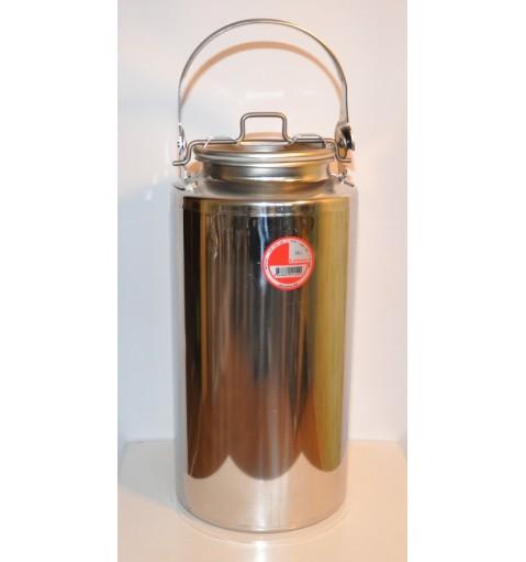 Бидон 15 литров из нержавейки