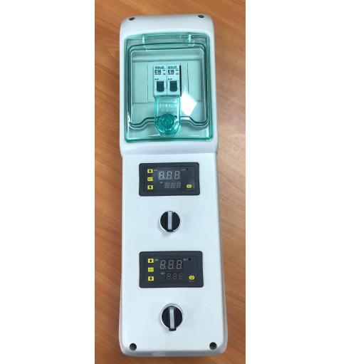 Пульт контроля температуры на 2 емкости