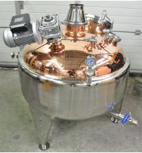 Пароводяной котел МЕДНЫЙ (ПВК) 290 литров.