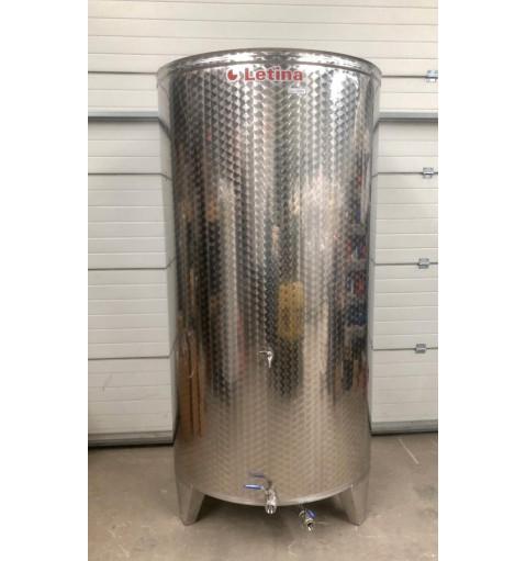 Емкость для вина с рубашкой Охлаждения (2000 литров)
