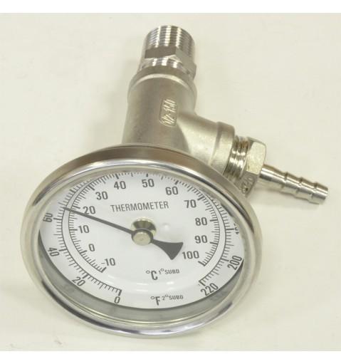 Измерение температуры в потоке
