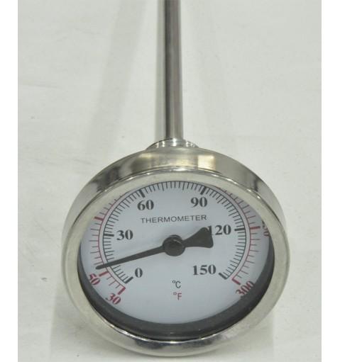 """Термометр с щупом. Резьба 1/2""""."""
