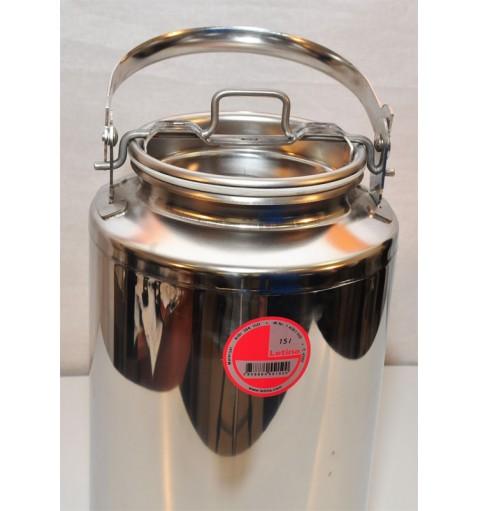 Бидон 15 литров из нержавейки с краном