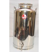 Бидон из нержавейки 40 литров с краном