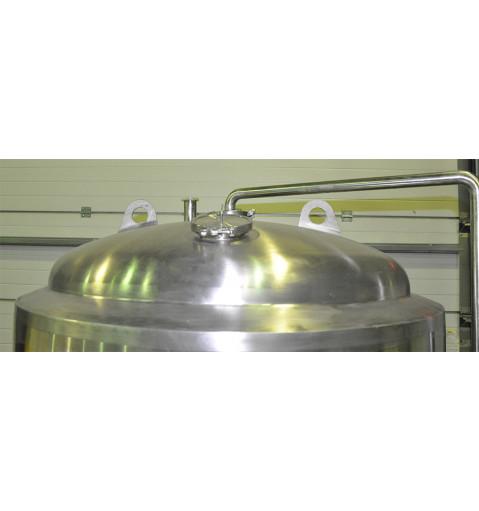 ЦКТ в термоизоляции 1350л (Давление 2,5 бара).