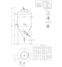 Емкость ЦКТ 358л (давление 2 бара.)