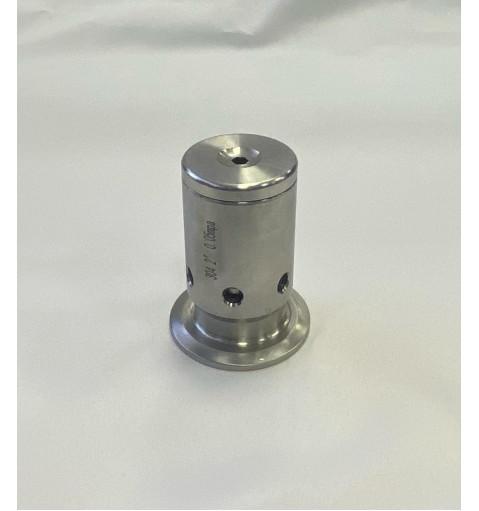 Клапан безопасности регулируемый от 0,5бар с Clamp 2