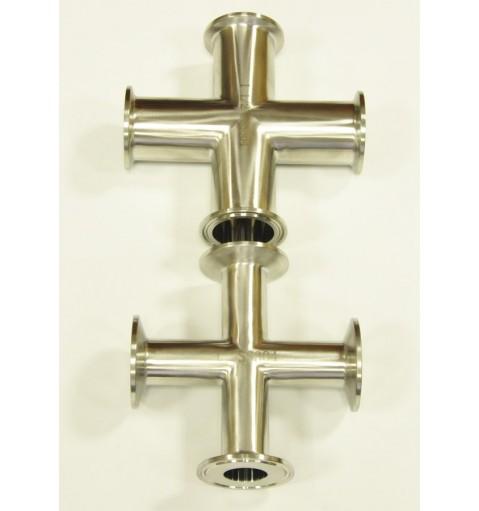 Кламп с 4-мя выходами (Крест)