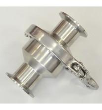 Обратный клапан DN32 с кламп соединение.
