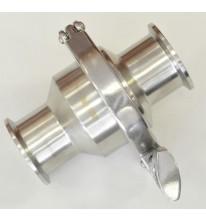 Обратный клапан DN40 с кламп соединение.