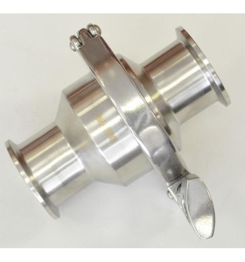 Обратный клапан с кламп соединением