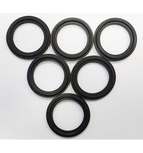 Уплотнение 50.5мм (Черный силикон).