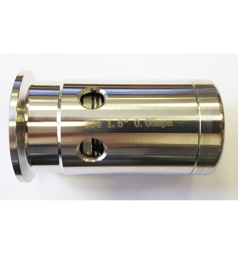 Клапан безопасности 0,5 бар с кламп соединением