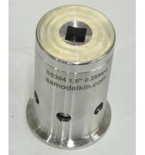 Клапан безопасности 2,5 бар. (вакуум/давление)