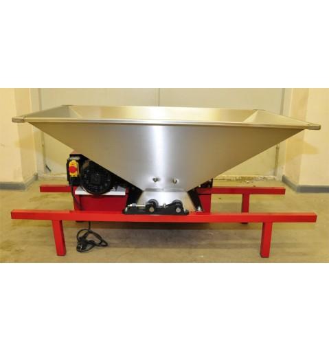Дробилка для винограда 500-700кг/час (Нерж. бункер)