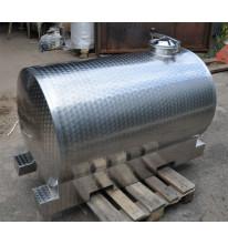 Горизонтальная емкость 500 литров (Термоизолированная)