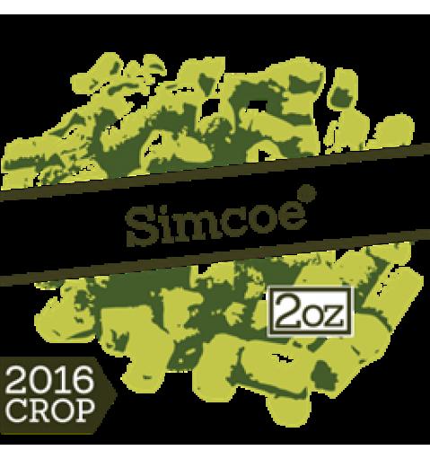 Хмель Simcoe 2016г.