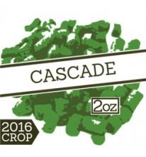 Хмель Cascade. Альфа 5.5-9%. 300гр.