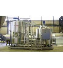 Пивоварня 1650 литров полного объема варочника.