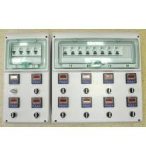 Система контроля температуры для 12-ти  емкостей.