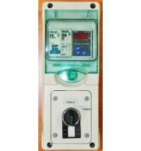 Система контроля температуры для одной емкости.