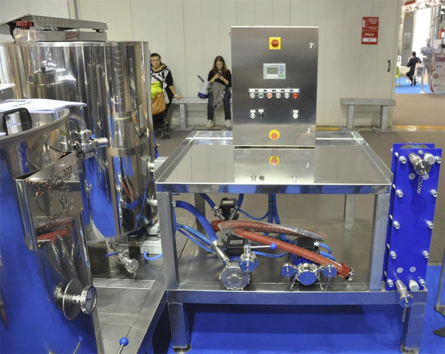 Пивоварня 400 литров Италия.